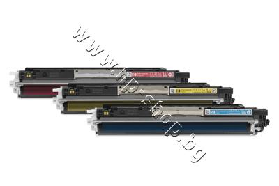 CF341A Тонер HP 126A за CP1025/M175/M275 3-pack, 3 цвята (3x1K)