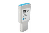 Мастила и глави за широкоформатни принтери » Мастило HP 727, Cyan (300 ml)