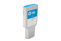 Мастила и глави за широкоформатни принтери » Мастило HP 745, Cyan (300 ml)