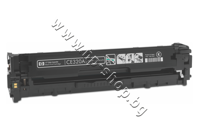 CE320A Тонер HP 128A за CM1415/CP1525, Black (2K)