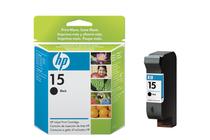 Мастила и глави за мастиленоструйни принтери » Касета HP 15, Black 25 ml