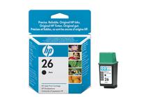 Мастила и глави за мастиленоструйни принтери » Касета HP 26, Black