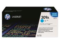 Тонер касети и тонери за цветни лазерни принтери » Тонер HP 309A за 3500/3550, Cyan (4K)