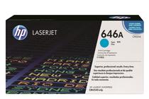Тонер касети и тонери за цветни лазерни принтери » Тонер HP 646A за CM4540, Cyan (12.5K)