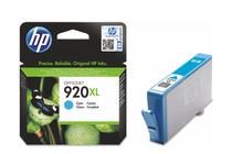 Мастила и глави за мастиленоструйни принтери » Мастило HP 920XL, Cyan