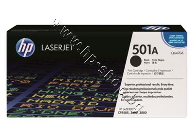 Q6470A Тонер HP 501A за CP3505/3600/3800, Black (6K)