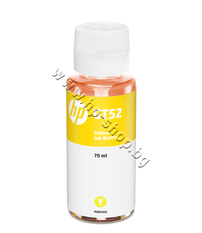 M0H56AE Мастило HP GT52, Yellow