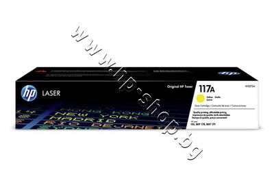 W2072A Тонер HP 117A за 150/178/179, Yellow (0.7K)