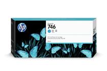 Мастила и глави за широкоформатни принтери » Мастило HP 746, Cyan (300 ml)