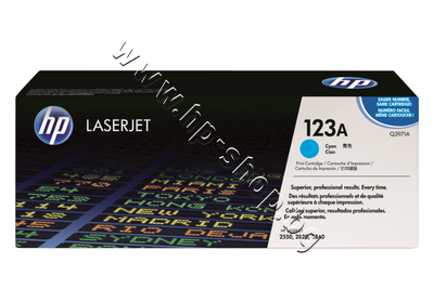 Q3971A Тонер HP 123A за 2550/2800, Cyan (2K)