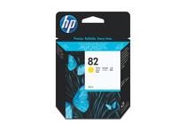 Мастила и глави за широкоформатни принтери » Мастило HP 82, Yellow (28 ml)