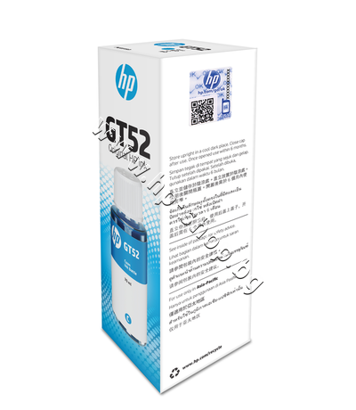 M0H54AE Мастило HP GT52, Cyan