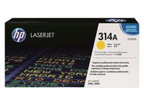 Тонер касети и тонери за цветни лазерни принтери » Тонер HP 314A за 2700/3000, Yellow (3.5K)