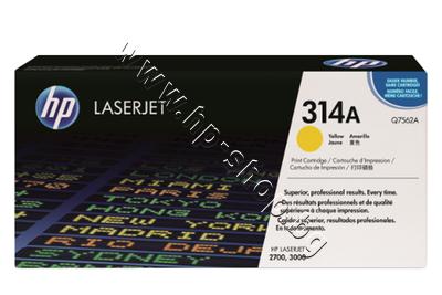 Q7562A Тонер HP 314A за 2700/3000, Yellow (3.5K)
