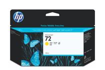 Мастила и глави за широкоформатни принтери » Мастило HP 72, Yellow (130 ml)