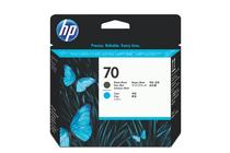 Мастила и глави за широкоформатни принтери » Глава HP 70, Matte Black + Cyan