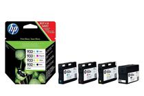 Мастила и глави за мастиленоструйни принтери » Мастило HP 932XL/933XL combo 4-pack, 4 цвята