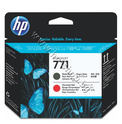 CE017A Глава HP 771, Matte Black + Chromatic Red