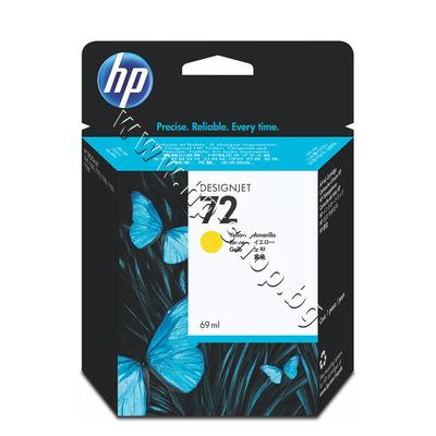 C9400A Мастило HP 72, Yellow (69 ml)