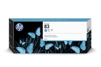 Мастила и глави за широкоформатни принтери » Мастило HP 83, Cyan (680 ml)