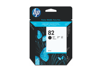Мастила и глави за широкоформатни принтери » Мастило HP 82, Black (69 ml)