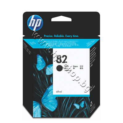 CH565A Мастило HP 82, Black (69 ml)